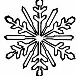 Snowflake Coloring Pages for Kindergarten   31675