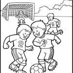 Soccer Coloring Pages for Kids   1v46v