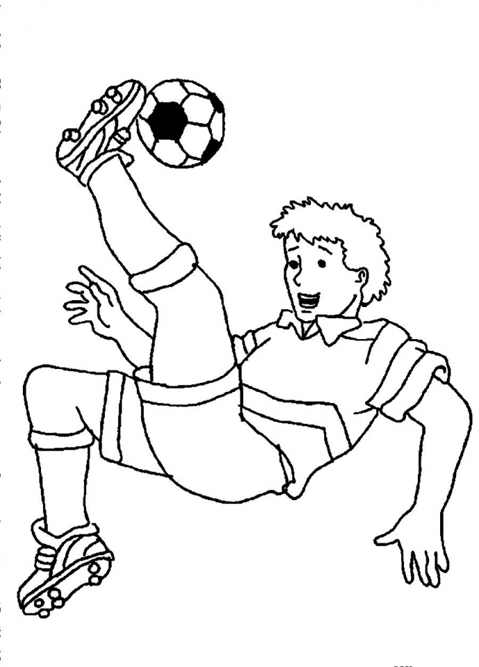 Soccer Coloring Pages Free to Print   98143