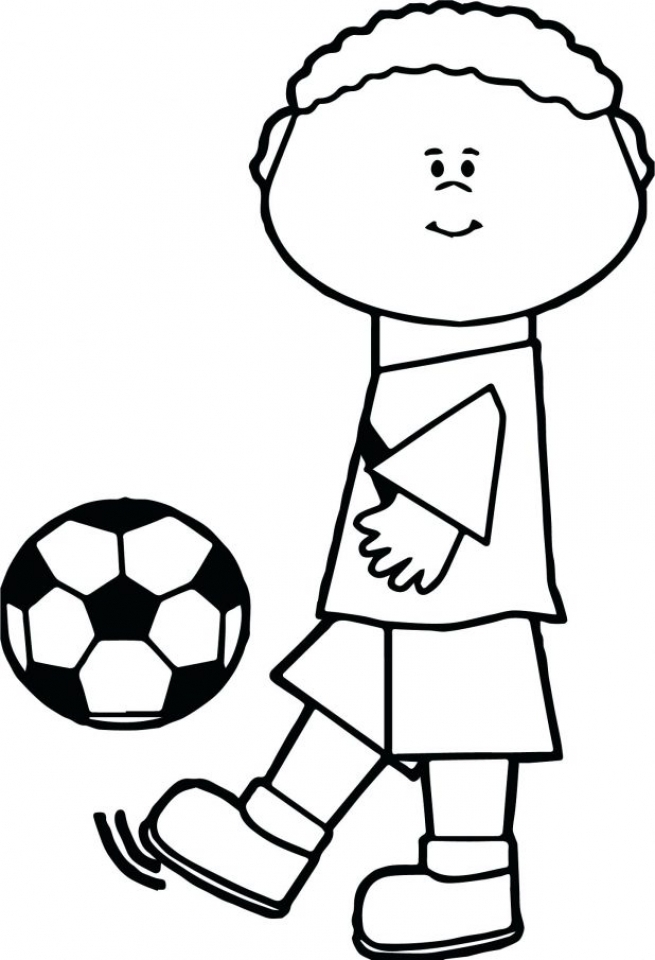 Soccer Coloring Pages to Print   0cy3m