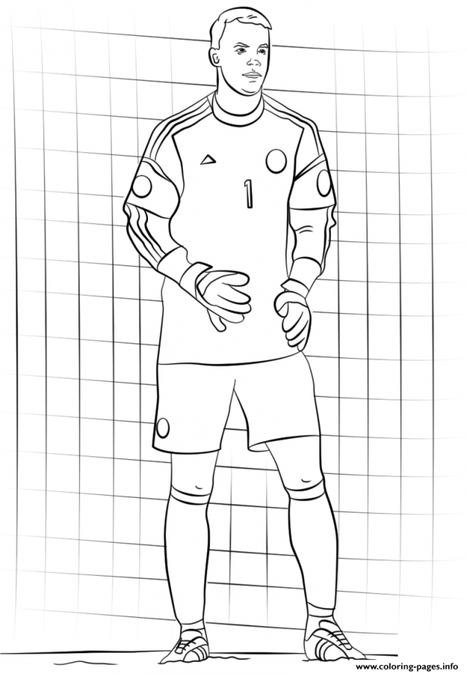 Soccer Coloring Pages to Print for Kids   4xvd6