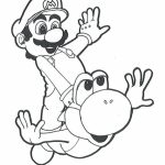 Super Mario coloring pages free printable   tgwm7