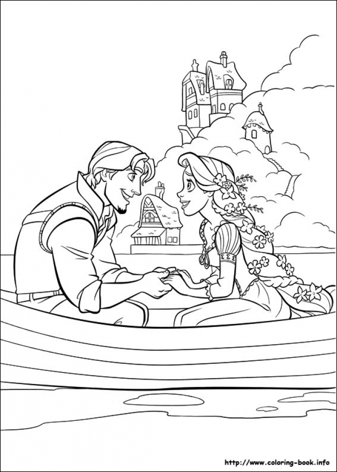Tangled Coloring Pages Online   yfgrx