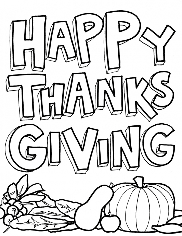 20 Free Printable Thanksgiving Coloring Pages EverFreeColoringcom