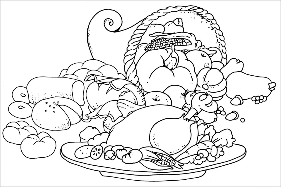 Thanksgiving Coloring Pages Free to Print   ucbr3