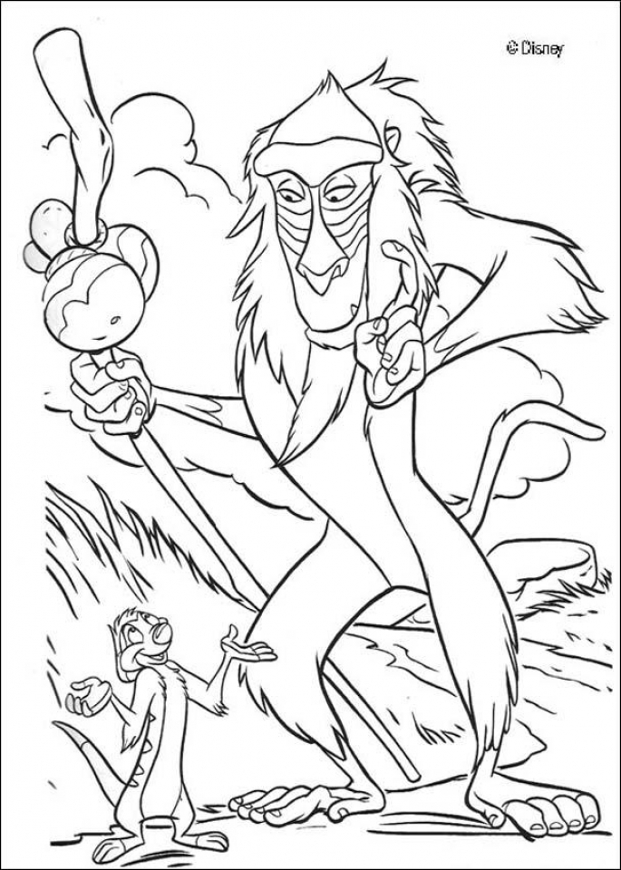 The Lion Kin Coloring Pages Free to Print   8fh31
