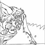 The Lion Kin Coloring Pages Free to Print   ya730