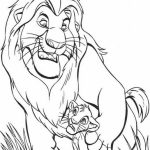 The Lion Kin Coloring Pages Free to Print   yad6