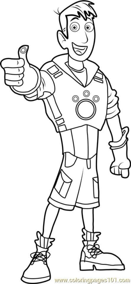 Get This Wild Kratts Coloring Pages Printable Tawm3