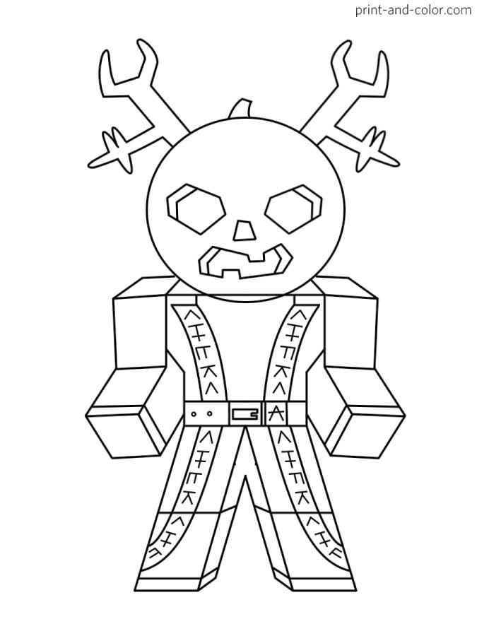 Get This Roblox Coloring Pages to Print mnt9