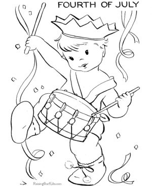 4th of July Coloring Pages for Toddlers – 6cve1