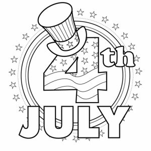 4th of July Coloring Pages Free to Print   5dn5o