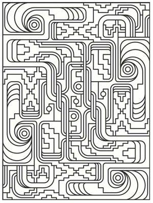 Adult Coloring Pages Patterns Art Deco 5lqp