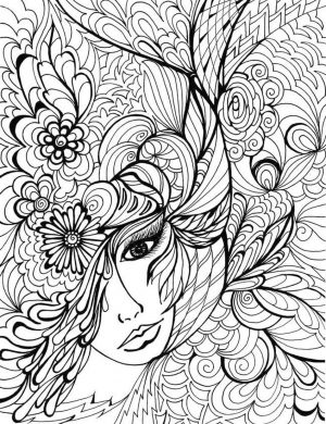 Adult Coloring Pages Patterns Flowers jkl3