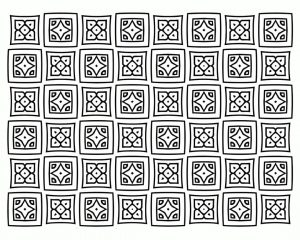 Adult Coloring Pages Patterns Square Quilt 9bdi