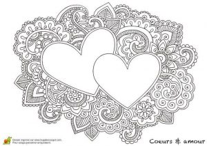 Adults Printable Love Coloring Pages – 7etq4