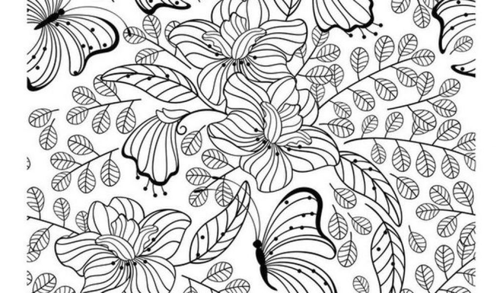 Awesome Advanced Coloring Pages Butterfly Gallery - Triamterene.us ...