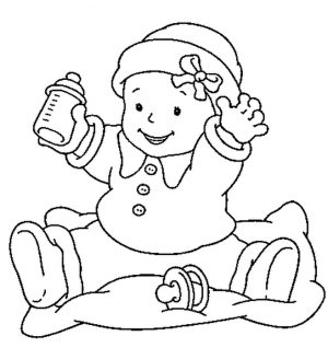 Baby Coloring Pages Online – br8a2