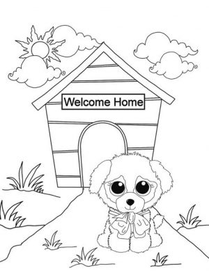 Beanie Boo Coloring Pages for Kids cvg8