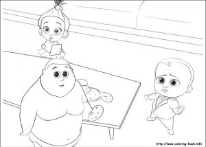 Boss Baby Free Printable Coloring Pages – 82121