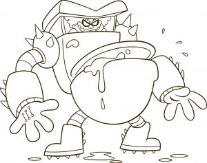 Captain Underpants Coloring Pages 004y
