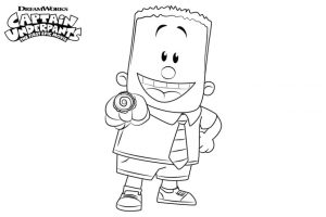 Captain Underpants Coloring Pages Printable 010g