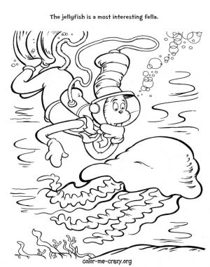 Cat In The Hat Coloring Pages Printable 2azq