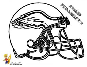 Coloring Pages of NFL Helmets – 041ha