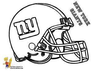 Coloring Pages of NFL Helmets – 8shem