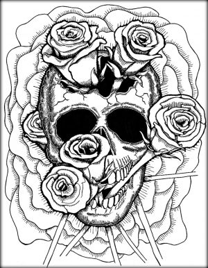 Cool Trippy Coloring Pages for Grown Ups – IK6S9