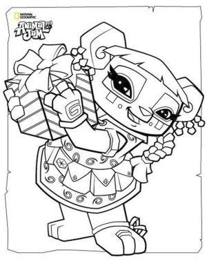 Cute Animal Jam Coloring Pages Free Printable 3cte