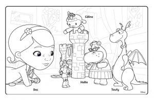 Doc McStuffins Coloring Pages for Kids frd7