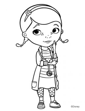 Doc McStuffins Coloring Pages for Kids iwd6
