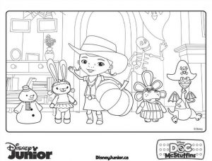 Doc McStuffins Coloring Pages to Print pmp3