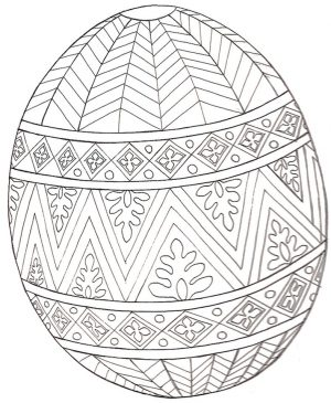 Easter Egg Design Coloring Pages – 51221