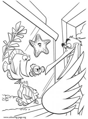 Finding Nemo Coloring Pages for Kids – kl57f