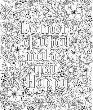 Flower Design Coloring Pages – 84851