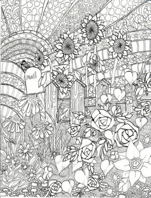 Free Adults Printable of Summer Coloring Pages – 17732