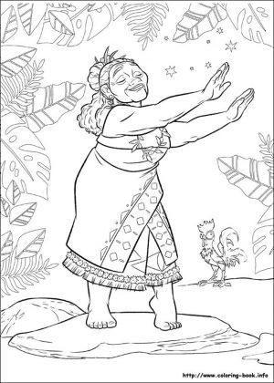 Free Moana Coloring Pages to Print – RQ78P