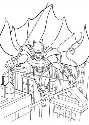 Free Printable Batman Coloring Pages DC Superhero – 75291