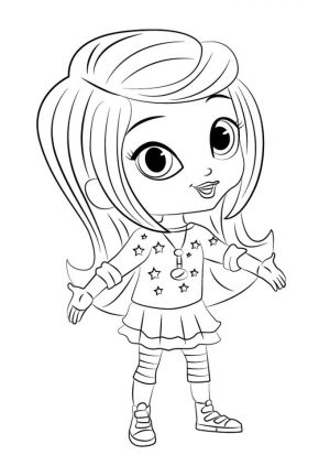 Free Shimmer and Shine Coloring Pages for Kids tjz3