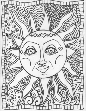 Free Summer Coloring Pages for Adults to Print – 79936