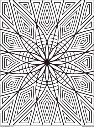 Geometric Design Coloring Pages – tr5wk