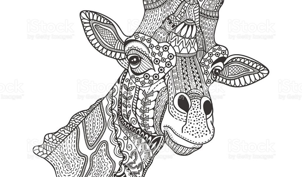 Get This Giraffe Coloring Pages