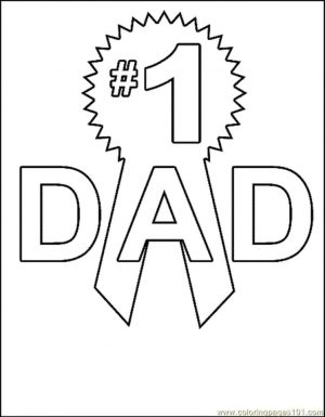 Happy Father's Day Coloring Pages – c672s