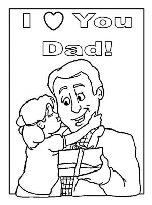 Happy Father's Day Coloring Pages – mc73x