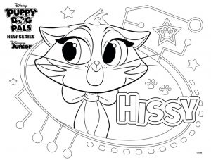 Hissy Puppy Dog Pals Coloring Pages Printable 8jhb