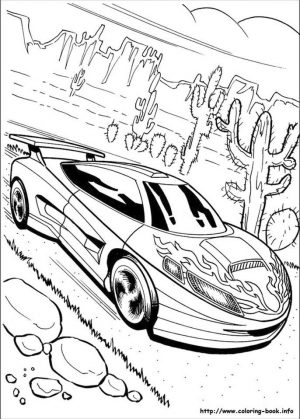 Hot Wheels Coloring Pages for Kids 3fre