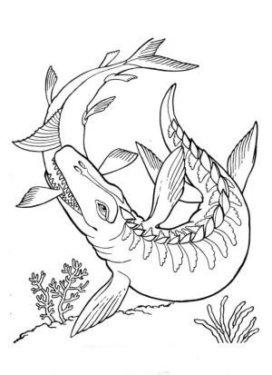 Jurassic World Coloring Pages Free for Kids 9ffk