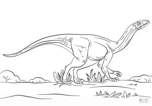 Jurassic World Coloring Pages Mussaurus 1mus